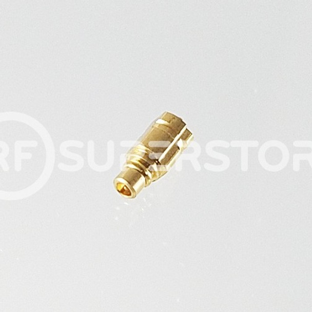 MMCX Plug Connector Solder Attachment PCB Surface Mount, Gold Plating