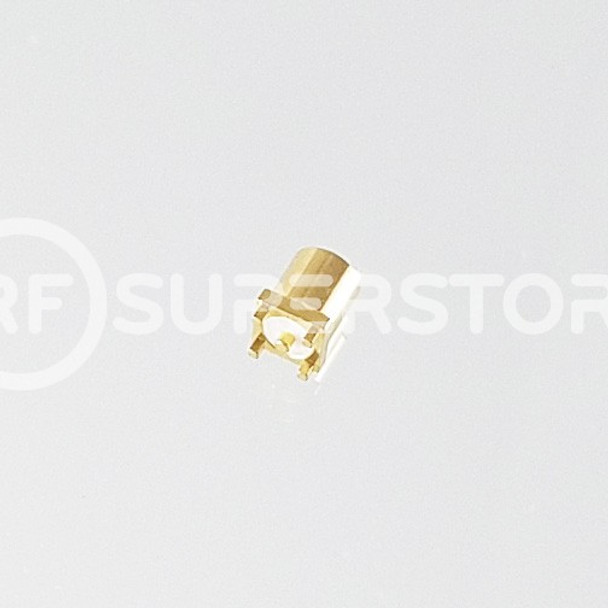 MMCX Jack Connector Solder Attachment PCB Surface Mount, Gold Plating