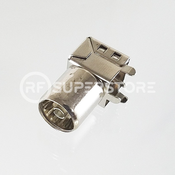 PAL Jack Right Angle Connector Solder Attachment PCB Through Hole, Nickel Plating