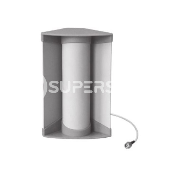 """Corner Antenna, WiFi 2.4GHz, Directional Radiation, 9dBi Gain with RP TNC Male Connector (8-1/2"""")"""