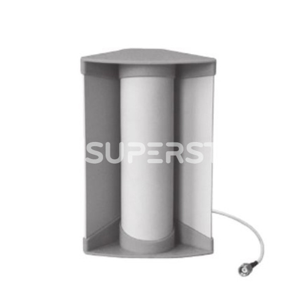 """Corner Antenna, WiFi 2.4+5.XGHz, Directional Radiation, 8/10dBi Gain with RP SMA Male Connector (8-1/2"""")"""
