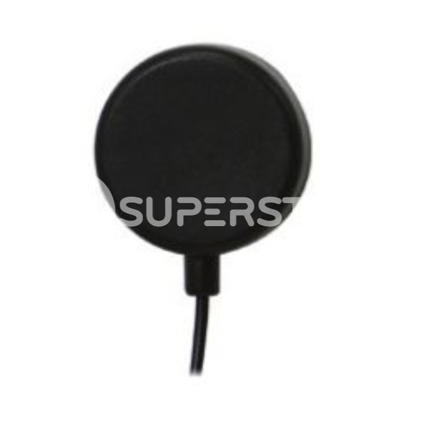 "Magnet Antenna, GPS GPS-1575.42MHz, Directional Radiation, 26dBic Gain with MCX Plug Connector (1-1/2"")"