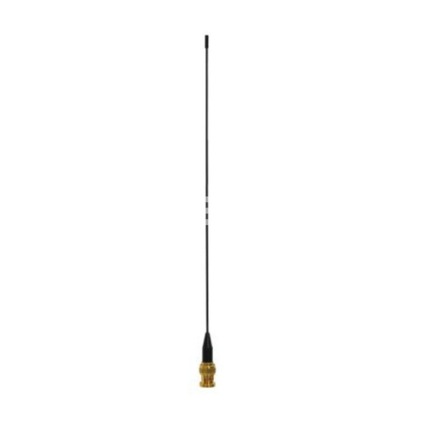 "Straight (Metal) Antenna, Ham Radio 144/430MHz, Omni Radiation, 2/3dBi Gain with BNC Male Connector (17"")"