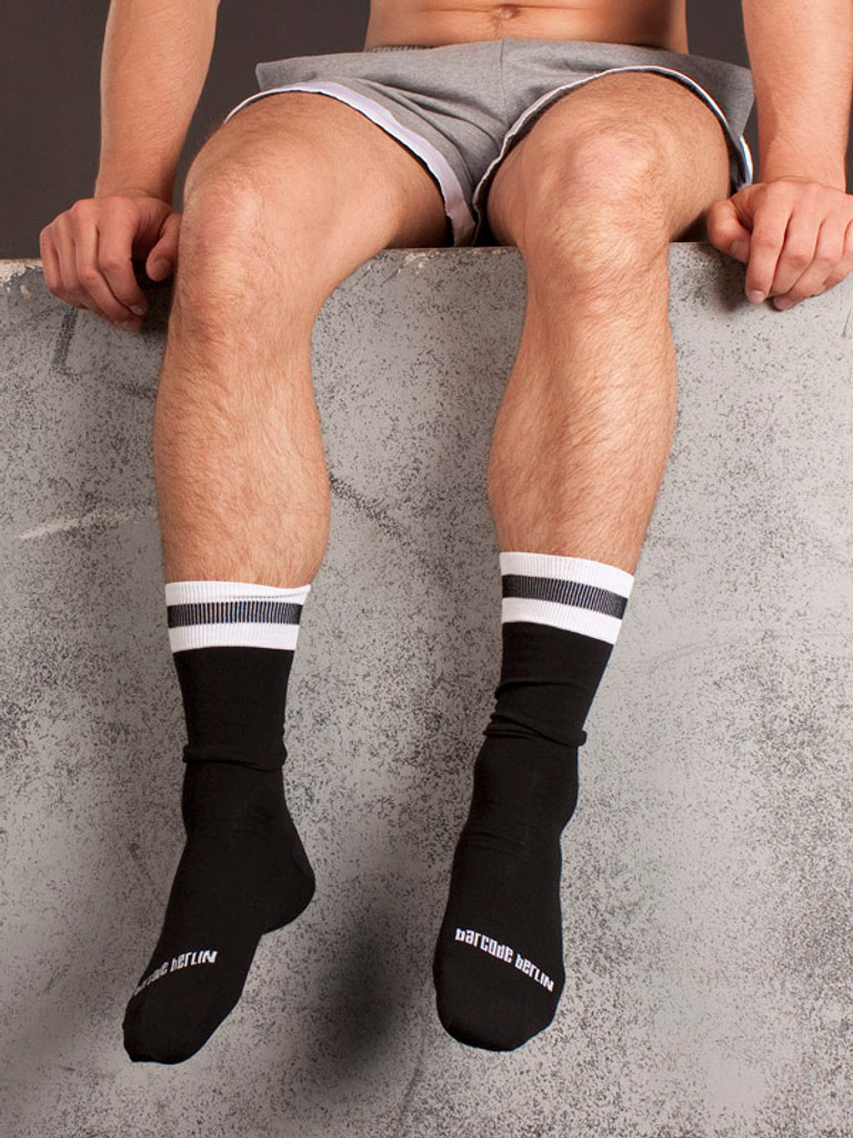City Socks - Black & White