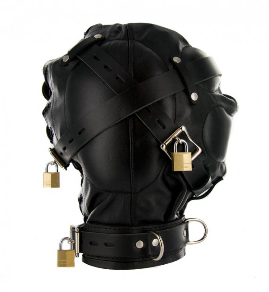 Strict Leather Sensory Deprivation Hood - ML