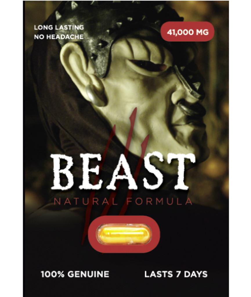 Beast - Natural Formula Performance Pill