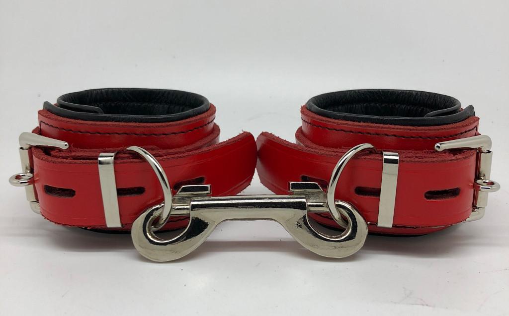 Red & Black Wrist Restraints