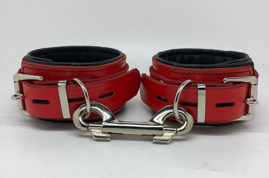 Red & Black Ankle Restraints