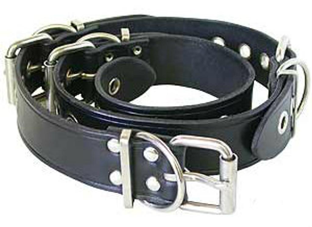 Leather Belt Restraint