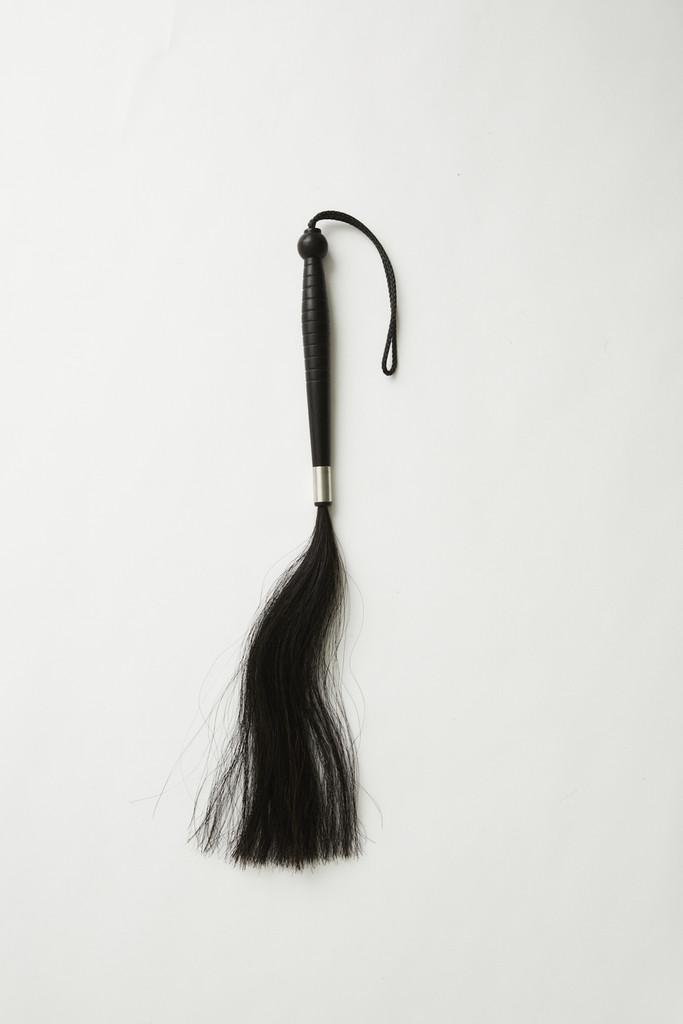 Horse Hair Flogger Dark Brown
