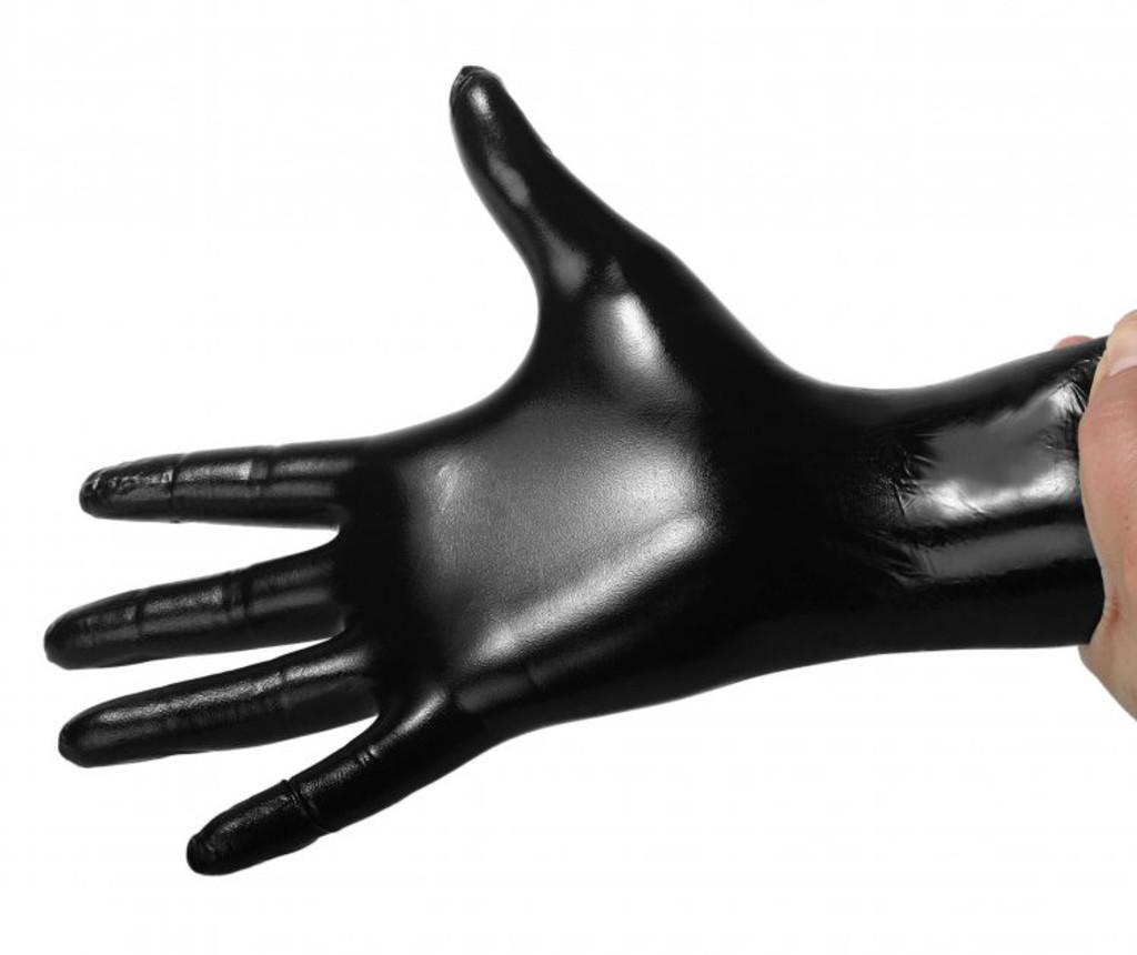 Black Nitrile Examination Gloves - 100 Count