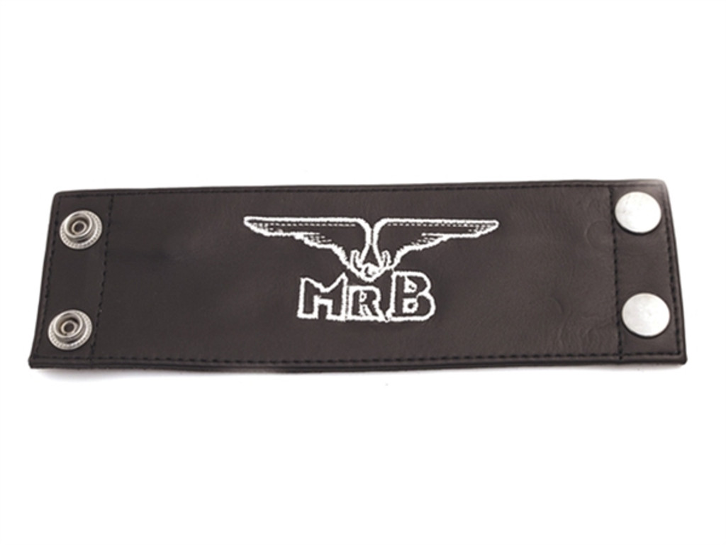 Mister B Wrist Wallet with white Logo