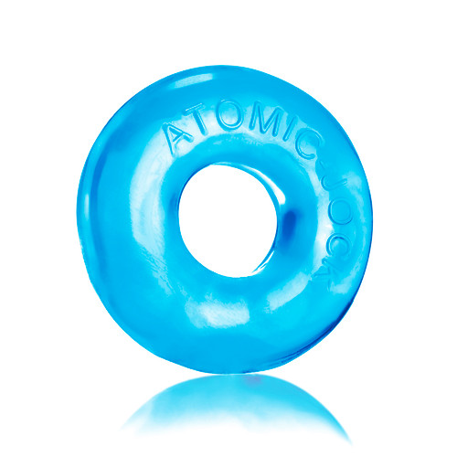 DONUT-2 FATTY Super Fat Cockring - Ice Blue