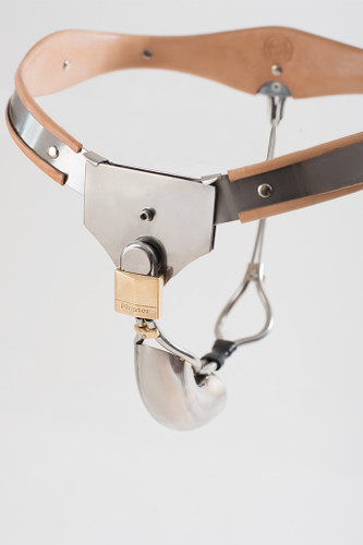Mens Low Profile Chastity Belt