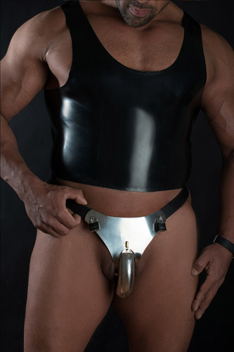 Mens Hybrid Male Chastity Belt