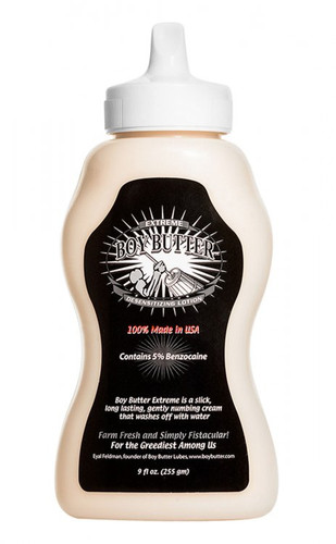 Boy Butter Extreme Desensitizing Lubricant - 9 oz
