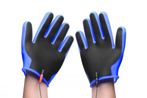 Conductor Electro Conductive Estim Gloves