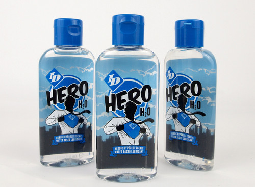 ID Hero H2O - Water Based Lubricant 130ml