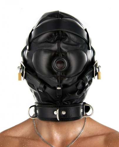 Strict Leather Sensory Deprivation Hood - Medium / Large