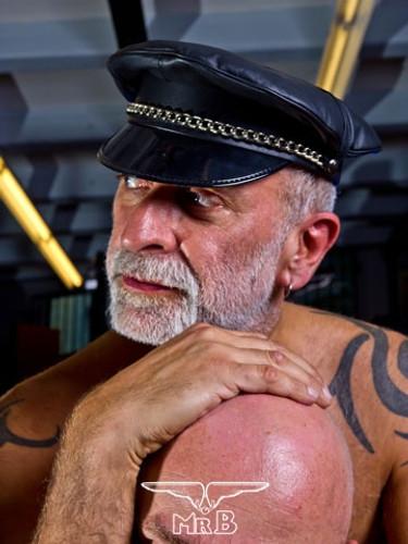 Mister B Military Cap No Fishbone Black