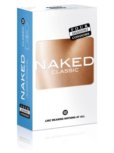 Four Seasons Naked Classic Condoms 12PK