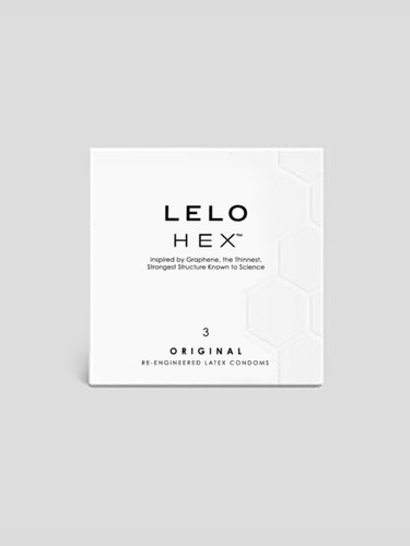LELO HEX 3 Pack Original Condoms