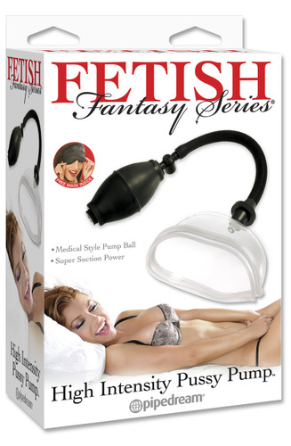 Fetish Fantasy Series High Intensity Pussy Pump