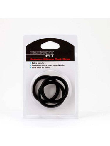Silicone 3 Ring Kit X Large Black