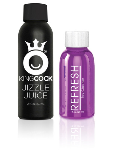 """King Cock 7"""" Squirting Cock - Flesh"""