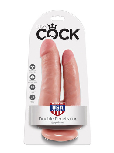 King Cock - Double Penetrator - Flesh