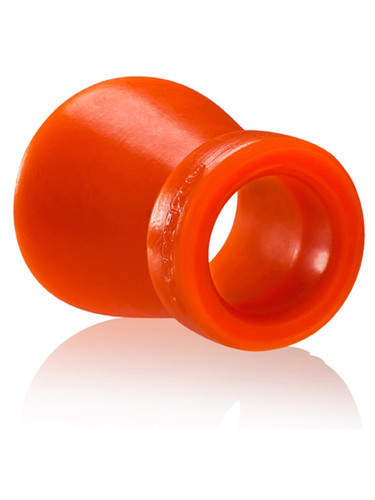Cone Of Shame Chastity Cockring - Orange