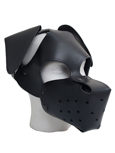 Mister B Leather Floppy Dog Hood