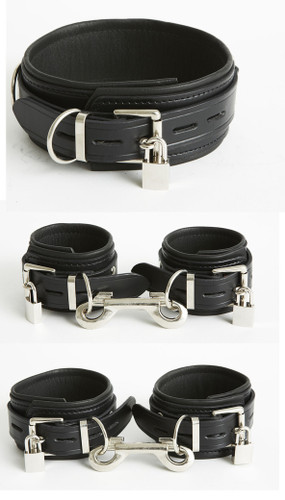 Deluxe Lockable Restraints Kit