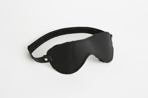 Plush Fur Lined Blindfold Aviator Velcro