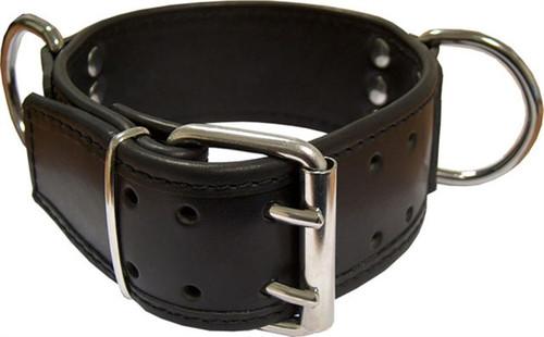 Mister B Slave Collar D Rings Broad