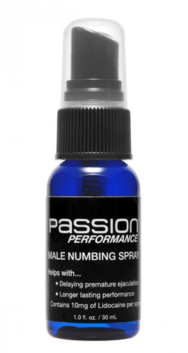 Passion Performance Stamina Spray with Maximum Lidocaine