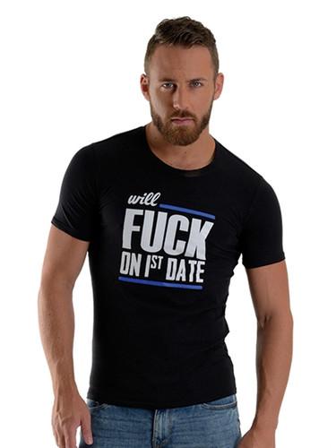 Mister B FUCK T-shirt Black