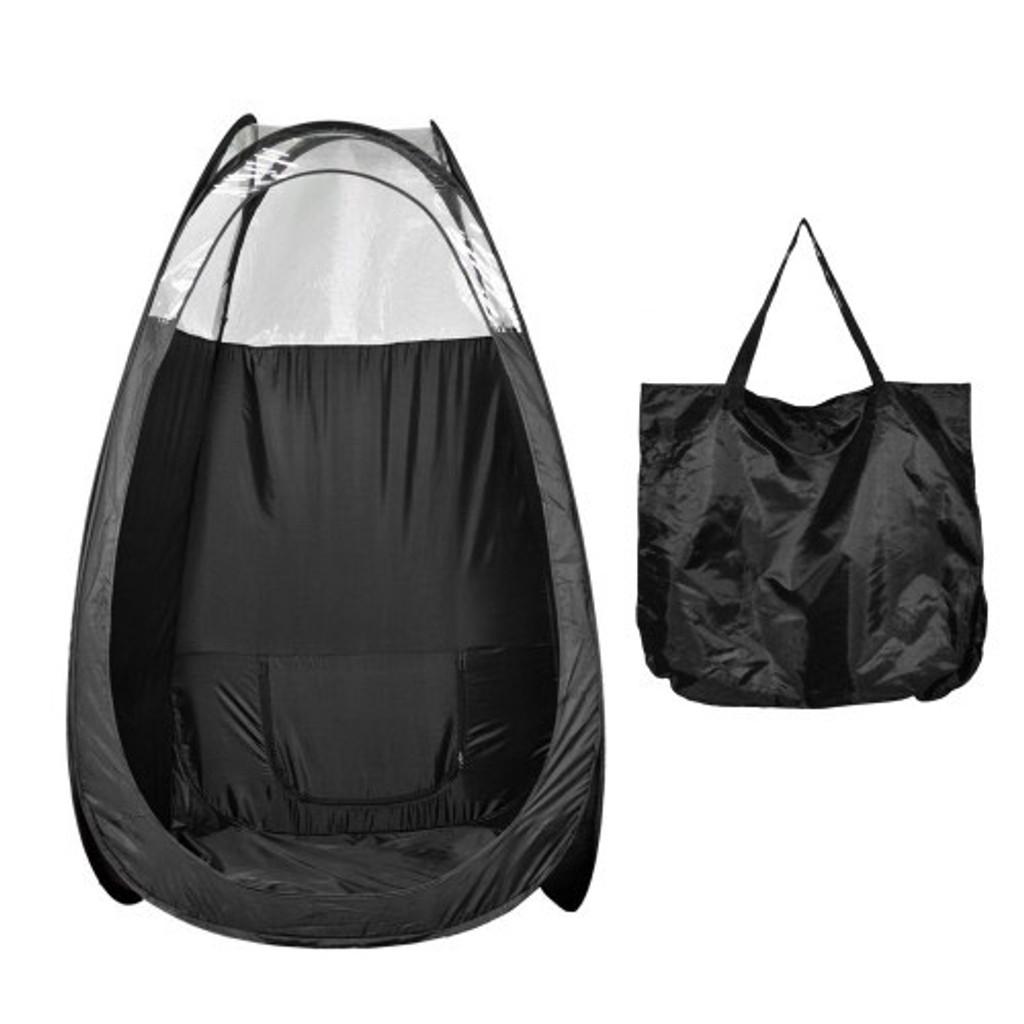 Pop Up Spray Tanning Tent - Black