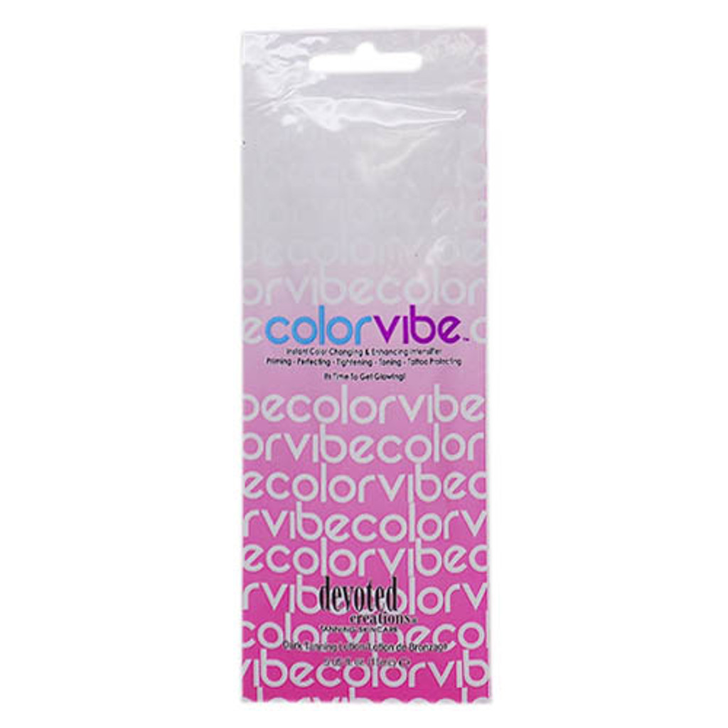 Devoted Creations COLOR VIBE Instant Color Changing Intensifier - .5 oz. Packet