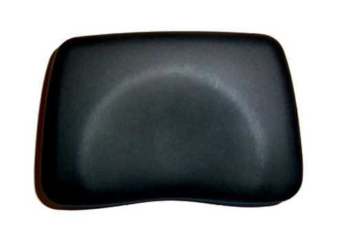 Foam Contoured Tanning Bed Pillow - Black