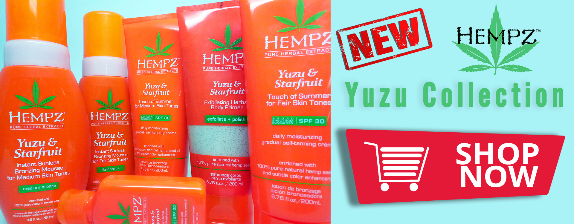 Hempz Yuzu Collection