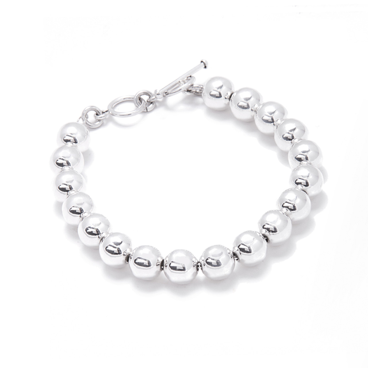 round tourmaline crystal bead tob bracelet the store black