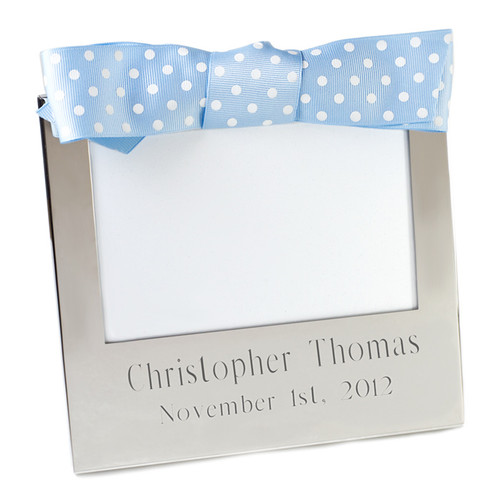 Personalized 4x6 Frame with Ribbon