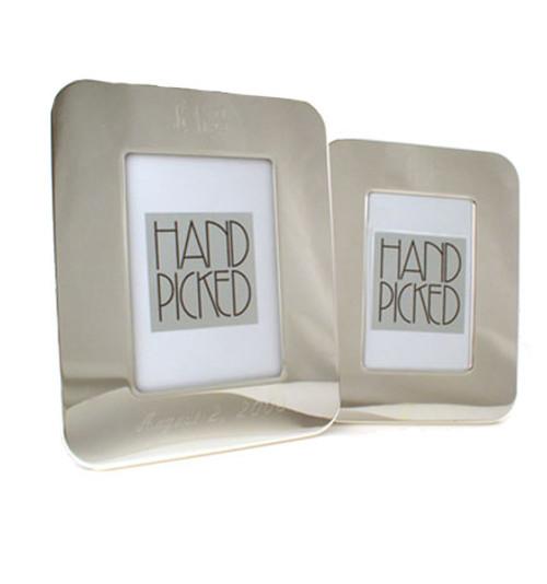 HandPicked: 5x7 Round Corner Frame: Monogram Engraved Gifts