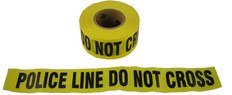 Allsafe SMC Barrior Tape, Police Line, Yellow