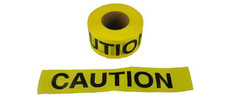 Allsafe SMC Barrior Tape, Caution Yellow