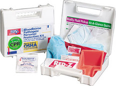 30 Piece Bloodborne Pathogen/Personal Protection Kit
