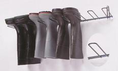 Boot Rack, Dark Green, PVC Coated , Holds 4 Pairs