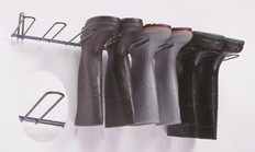 Boot Rack, Black, Holds 2 Pairs