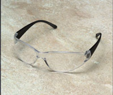 ERB #15281 Boas Safety Eyewear Smoke Frame w/ Clear Lens
